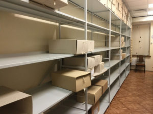 Отдел рукописей. Архив Рерихов разграблен